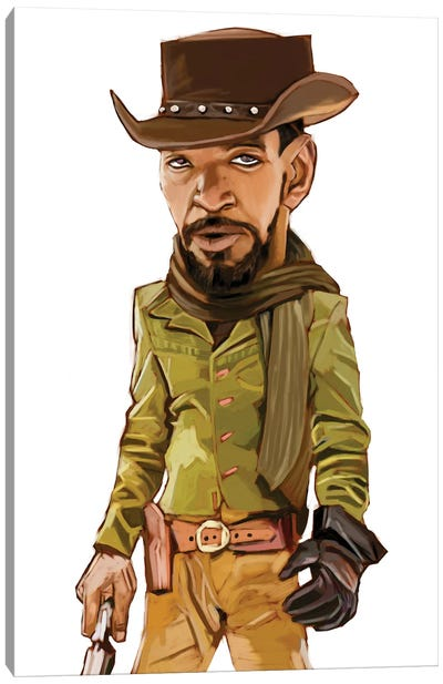 Django Canvas Art Print