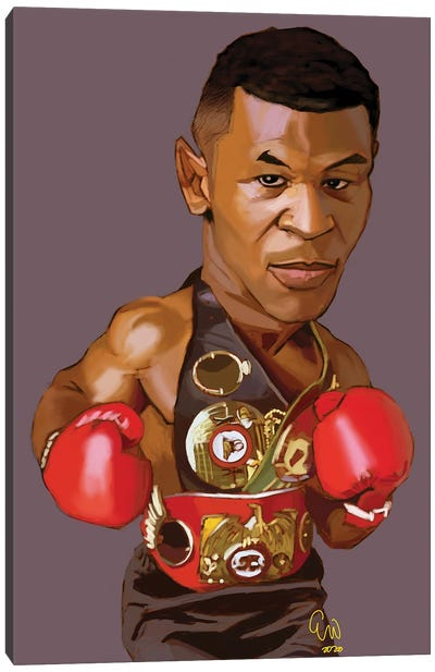 Iron Mike Canvas Art Print