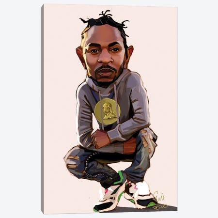 Kendrick Canvas Print #EVW65} by Evan Williams Canvas Wall Art