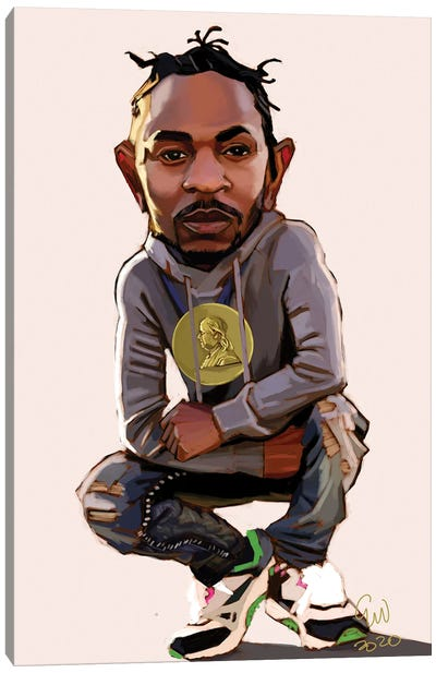 Kendrick Canvas Art Print