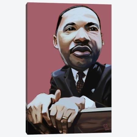 MLK Canvas Print #EVW69} by Evan Williams Art Print