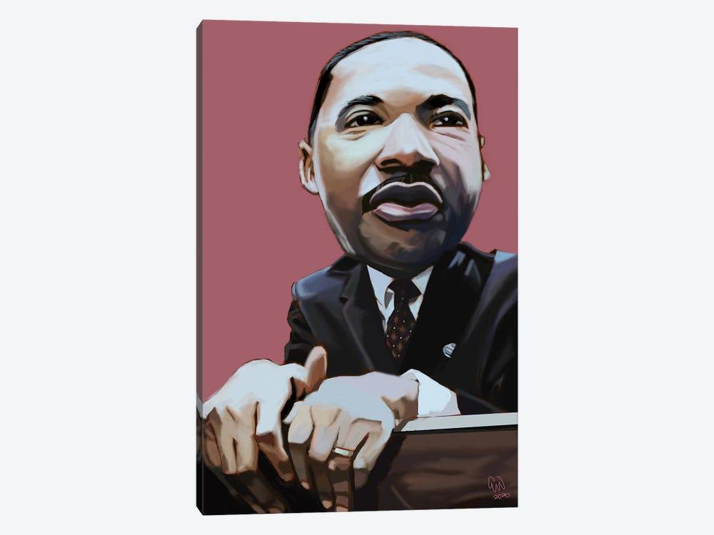 MLK by Evan Williams 1-piece Canvas Art Print