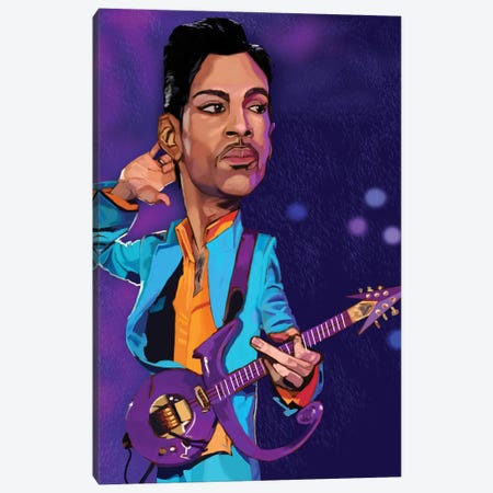 Prince Canvas Print #EVW70} by Evan Williams Canvas Artwork