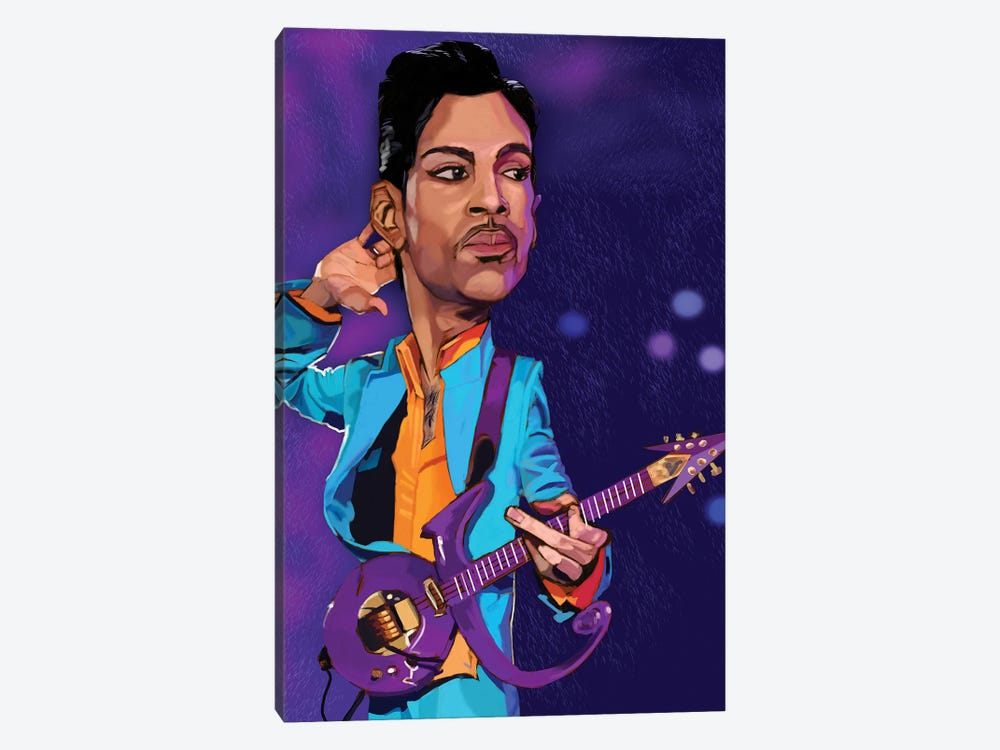 Prince by Evan Williams 1-piece Canvas Print