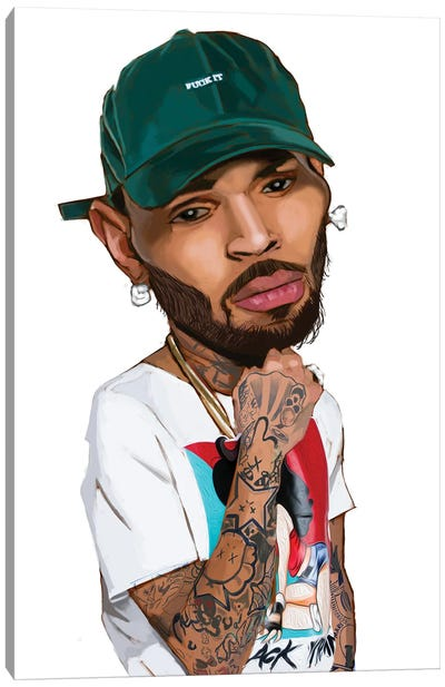 Chris Canvas Art Print