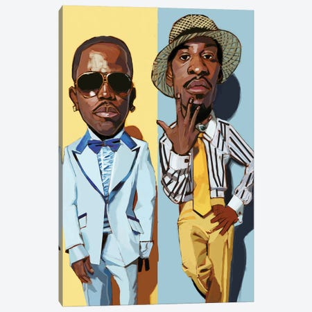 Outkast II Canvas Print #EVW79} by Evan Williams Canvas Wall Art