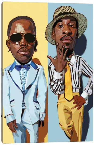 Outkast II Canvas Art Print
