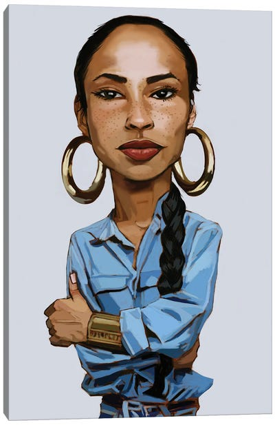 Sade II Canvas Art Print