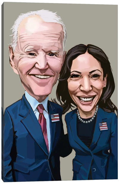 Biden + Harris Canvas Art Print