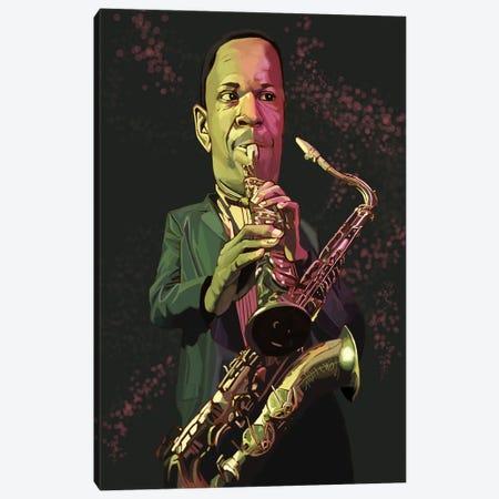 Coltrane Canvas Print #EVW87} by Evan Williams Canvas Artwork