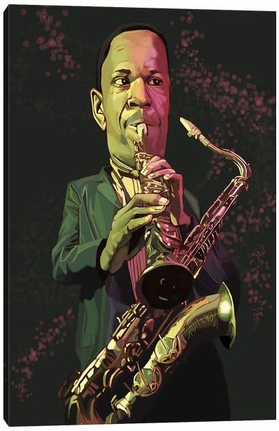 Coltrane Canvas Art Print