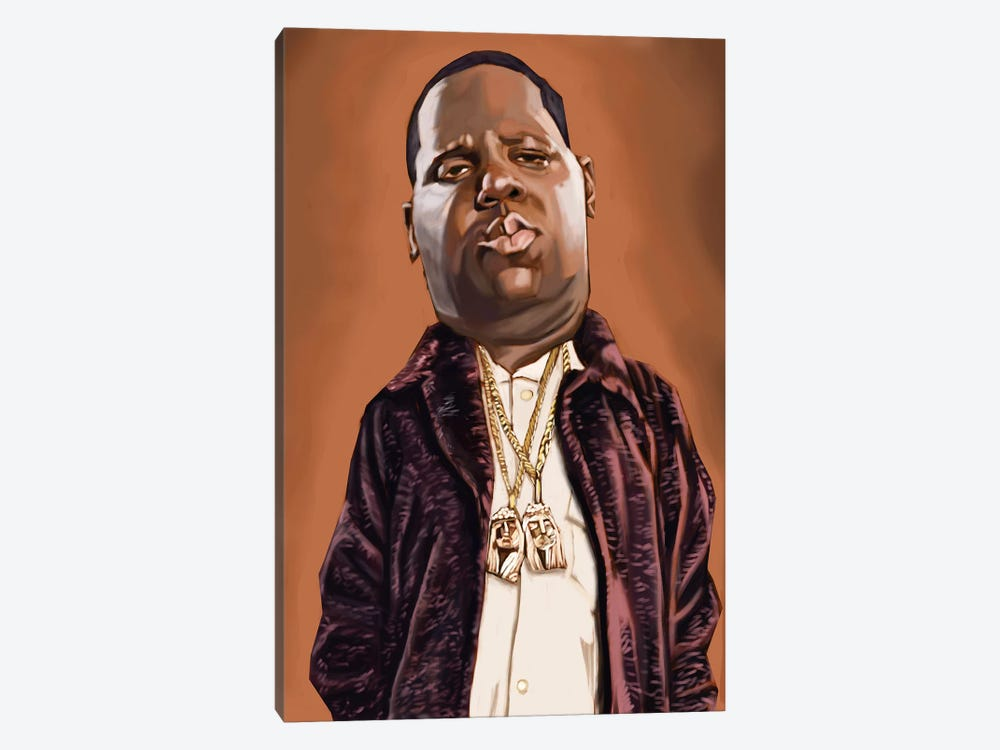 Biggie Smalls by Evan Williams 1-piece Canvas Print