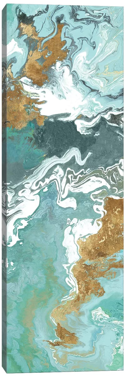 Green Marble II  Canvas Art Print