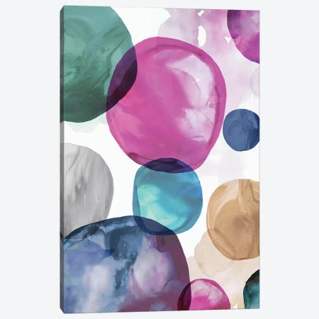 Multitude I Canvas Print #EWA115} by Eva Watts Canvas Wall Art