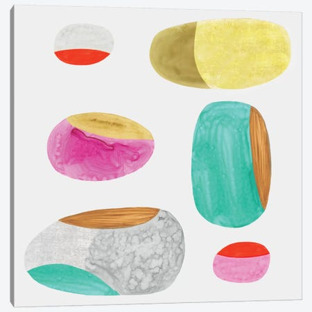 Color Combo III Canvas Print #EWA11} by Eva Watts Art Print