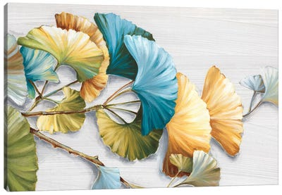 Romantic Ginkgo I Canvas Art Print