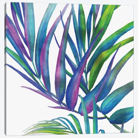 Colorful Leaves I Canvas Print #EWA12} by Eva Watts Canvas Print