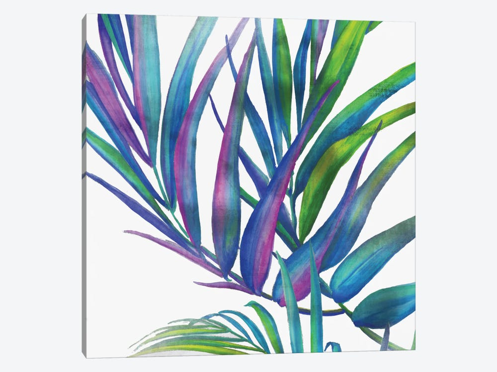 Colorful Leaves I by Eva Watts 1-piece Canvas Artwork