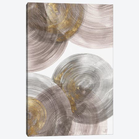 Spiral Rings I  Canvas Print #EWA130} by Eva Watts Canvas Art Print