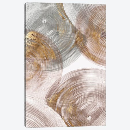 Spiral Rings II  Canvas Print #EWA131} by Eva Watts Canvas Print