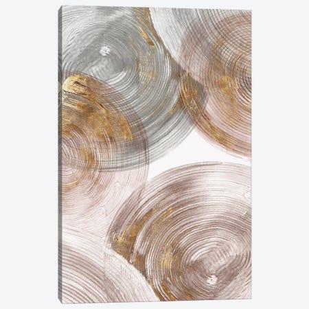 Spiral Rings II  Canvas Print #EWA131} by Eva Watts Canvas Print
