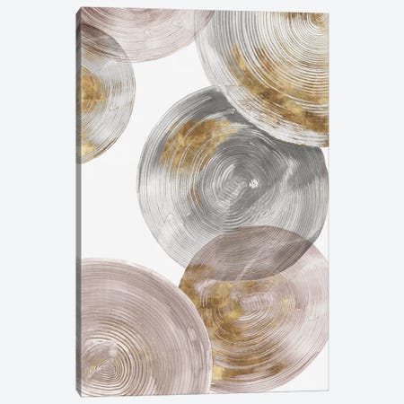 Spiral Rings III  Canvas Print #EWA132} by Eva Watts Canvas Art Print