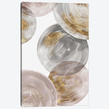 Spiral Rings III  Canvas Print #EWA132} by Eva Watts Canvas Art Print