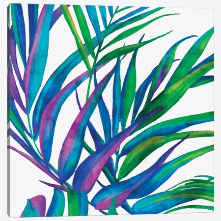 Colorful Leaves II Canvas Print #EWA13} by Eva Watts Art Print