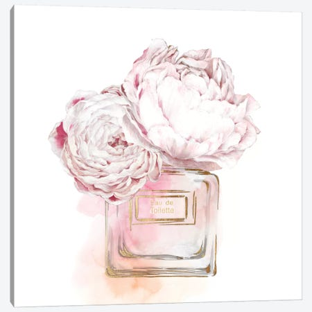 Eau de Toilette Gris  Canvas Print #EWA145} by Eva Watts Art Print