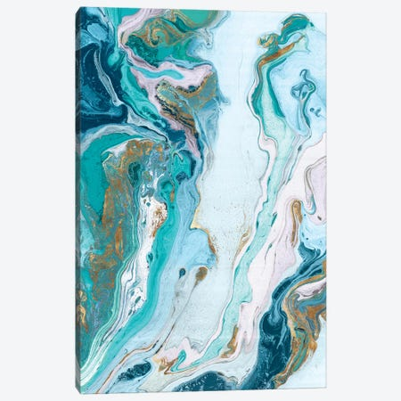 Marble Petroleum II  Canvas Print #EWA148} by Eva Watts Canvas Artwork