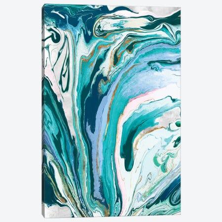 Marble Petroleum III  Canvas Print #EWA149} by Eva Watts Canvas Artwork