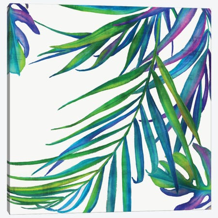Colorful Leaves III Canvas Print #EWA14} by Eva Watts Canvas Wall Art