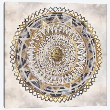 Golden Medallion  3-Piece Canvas #EWA154} by Eva Watts Canvas Artwork