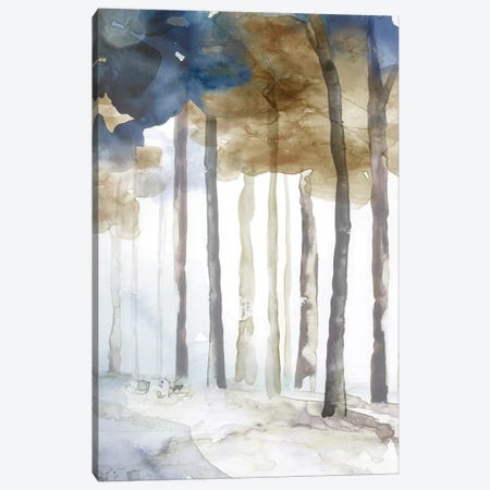 In the Blue Forest II  3-Piece Canvas #EWA156} by Eva Watts Canvas Art