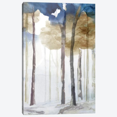 In the Blue Forest III  Canvas Print #EWA157} by Eva Watts Canvas Artwork