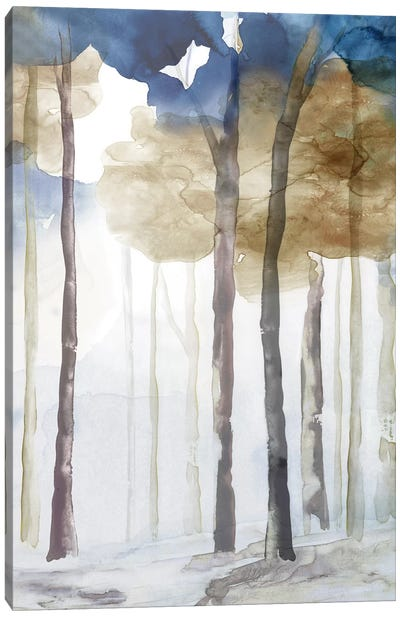 In the Blue Forest III  Canvas Art Print
