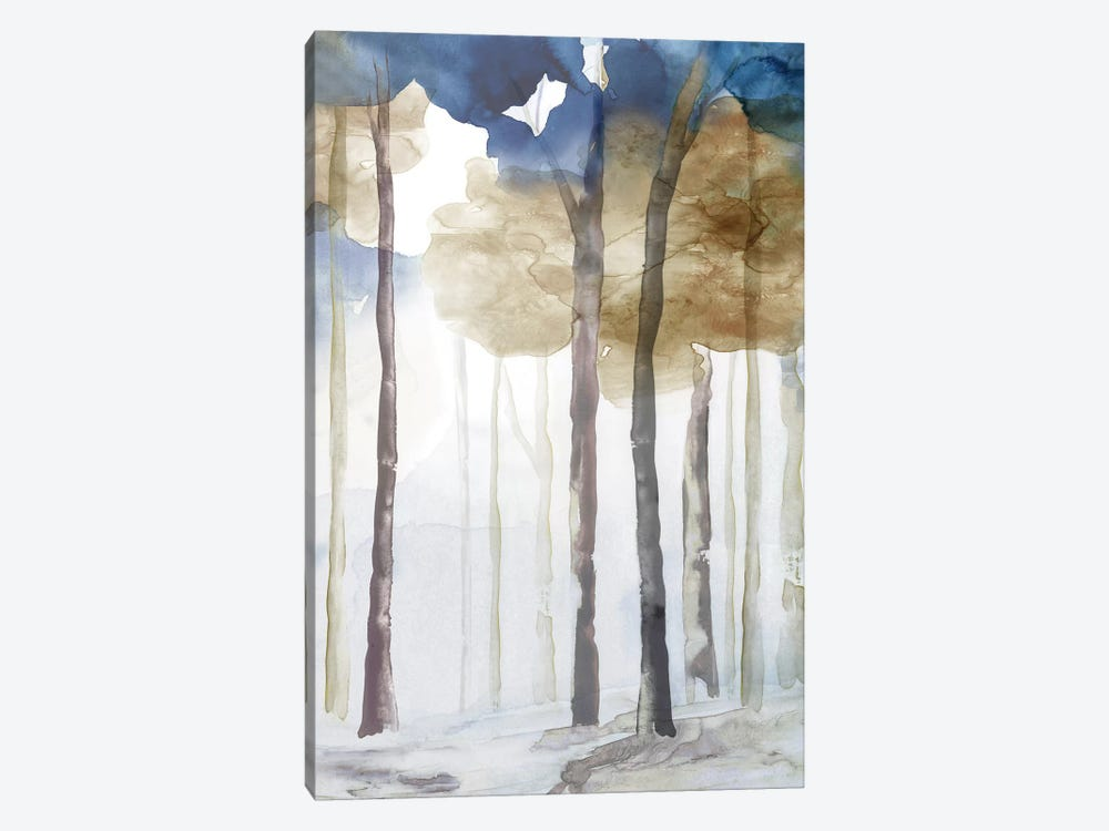 In the Blue Forest III  by Eva Watts 1-piece Canvas Art