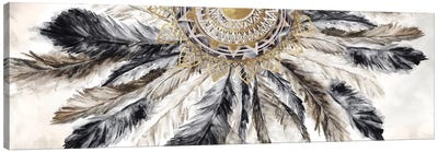 Necklace of Feathers I  Canvas Art Print