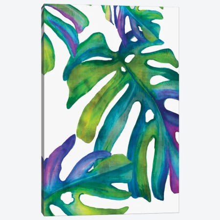 Colorful Leaves IV Canvas Print #EWA15} by Eva Watts Canvas Art