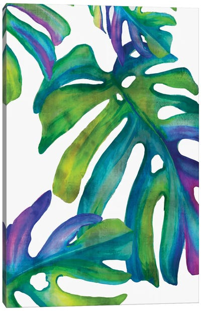 Colorful Leaves IV Canvas Art Print