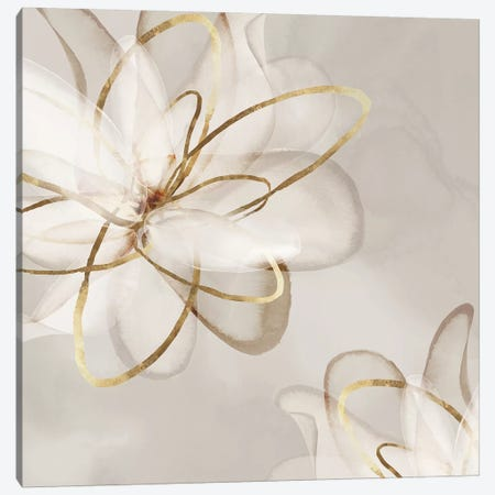 Transparent Beauty I  Canvas Print #EWA161} by Eva Watts Canvas Wall Art