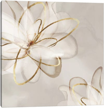 Transparent Beauty I  Canvas Art Print
