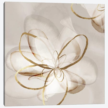 Transparent Beauty II  Canvas Print #EWA162} by Eva Watts Canvas Wall Art