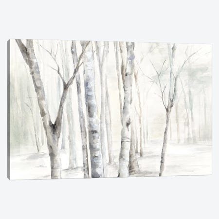 Winter is Here  Canvas Print #EWA169} by Eva Watts Canvas Artwork