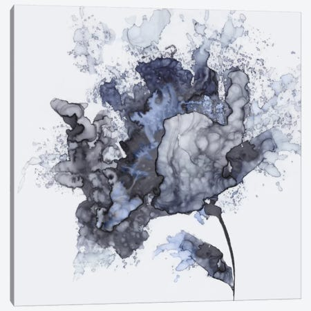 Exploding Leaf Canvas Print #EWA16} by Eva Watts Canvas Artwork