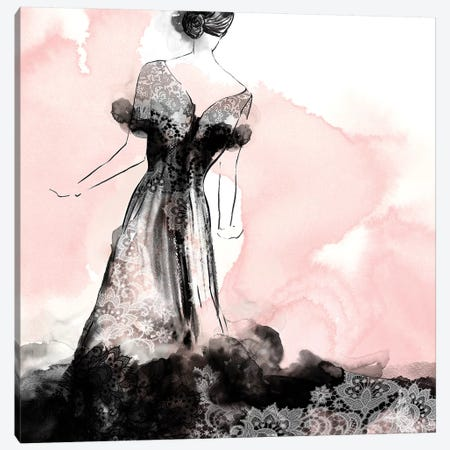 Laced Woman I  Canvas Print #EWA186} by Eva Watts Art Print