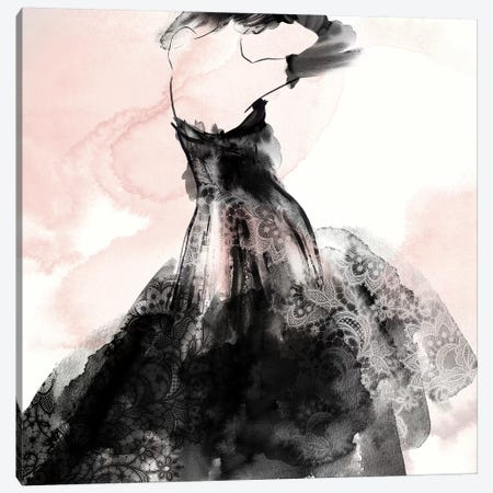 Laced Woman II  Canvas Print #EWA187} by Eva Watts Canvas Print