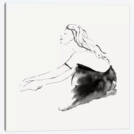 Leanna II  Canvas Print #EWA190} by Eva Watts Art Print