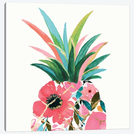 Pina Colada  Canvas Print #EWA195} by Eva Watts Canvas Artwork