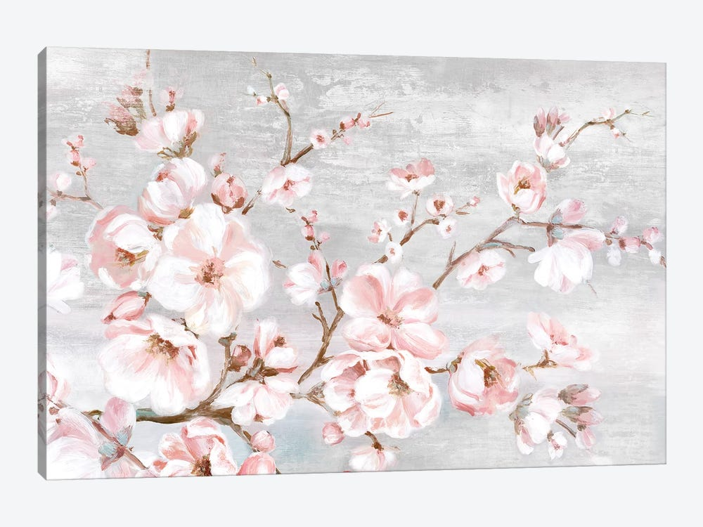 Spring Cherry Blossoms I  by Eva Watts 1-piece Art Print